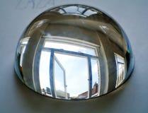 Demi sphère de cristal Photographie stock libre de droits