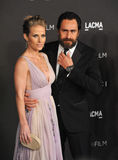 Demian Bichir & Stefanie Sherk Royalty Free Stock Photos