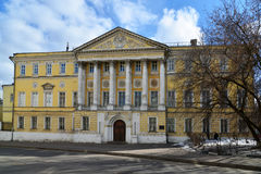 Demidov city estate, Gorokhovsky lane, now  Institute of Geodesy and Cartography Engineers in Moscow, Russia Royalty Free Stock Photos