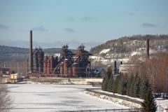 Demidovfabriek Fabriek - Museum Nizhny Tagil Het gebied van Sverdlovsk Rusland Royalty-vrije Stock Foto