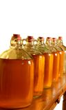 Demijohns isolated Royalty Free Stock Images