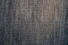 Demin fabric texture Stock Photography