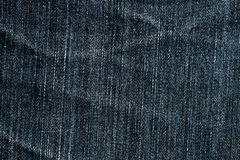 Demin fabric texture Royalty Free Stock Images