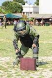 Группа по обнаружению и обезвреживанию взрывных устройств (Deminage) Стоковая Фотография
