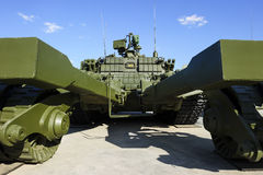 Demining pojazd wojskowy Obrazy Stock