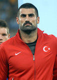 Demirel Volkan in Romania-Turkey World Cup Qualifier Game Stock Photography