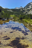 Demirkapiyski chukar peak and Banski lakes, Pirin Mountain Stock Photography