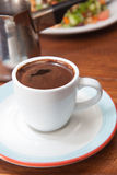 Demitasse cup of Turkish coffee Stock Images