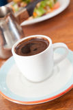 Demitasse cup of Turkish coffee Royalty Free Stock Photo