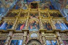 Demitry王子教会17世纪的受难者, Uglich,俄罗斯 免版税库存照片