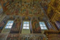 Demitry王子教会17世纪的受难者, Uglich,俄罗斯 库存照片