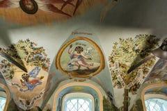 Demitry王子教会17世纪的受难者, Uglich,俄罗斯 免版税库存图片