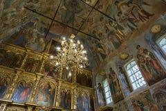 Demitry王子教会17世纪的受难者, Uglich,俄罗斯 图库摄影