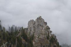 Demmel tip - the forbidden mountain Stock Photos