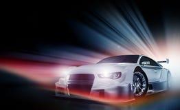Demónio de velocidade Fotografia de Stock