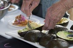 Demo cooking - Tinga De Pollo Royalty Free Stock Images