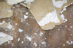 Demo Debris. Debris from a construction site Royalty Free Stock Photography