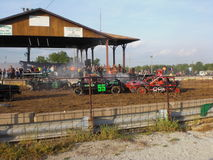 demo derby royaltyfri foto