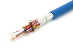 Demo model of a cable. Stock Image