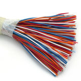 Demo model of a cable. Royalty Free Stock Photos
