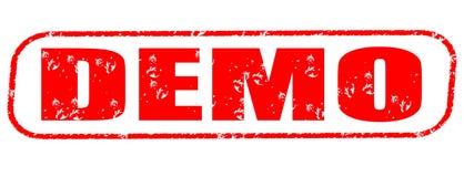 Demo stamp Royalty Free Stock Image