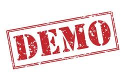 Demo stamp Stock Image