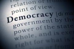 Democracia Fotografia de Stock Royalty Free