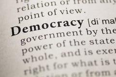 democracia fotografia de stock