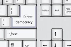 Democracia direta ilustração royalty free