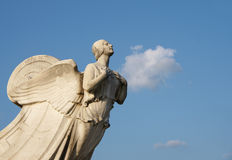 Democracia - estatua en la estación de la unión en lavarse Imagen de archivo libre de regalías