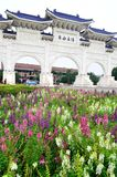 Democracia nacional pasillo conmemorativo de Taiwán Imágenes de archivo libres de regalías