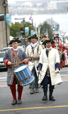 Democracy 250 years, 1758 Soldier Reinactment Stock Photo
