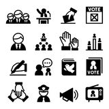 Democracy icon Stock Image