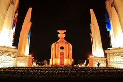 The Democracy Monument Royalty Free Stock Photo