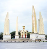 Democracy monument. The Democracy Monument (Thai: Anusawari Prachathipatai) is a public monument in the centre of Bangkok, capital of Thailand stock photo