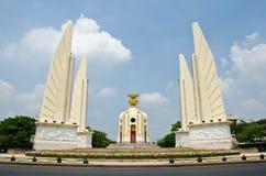 Democracy Monument. The Democracy Monument (Anusawari Prachathipatai) is a public monument in the centre of Bangkok, Thailand stock photos