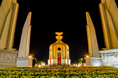 Democracy monument. The Democracy Monument is a public monument in the centre of Bangkok, capital of Thailand royalty free stock image
