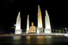 Democracy monument. In bangkok thailand stock photos