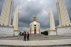 Democracy monument in Bangkok Stock Photo