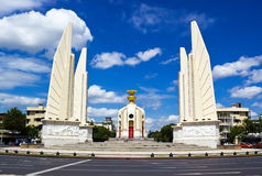 Democracy monument in Bangkok Royalty Free Stock Image