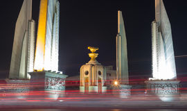 Democracy Monument in Bangkok city Royalty Free Stock Images