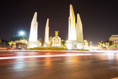 Democracy Monument in Bangkok. On December 20, 2015 stock photography
