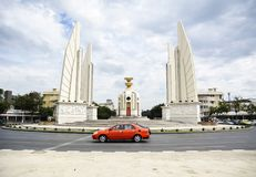 Democracy Monument in Thailand. Democracy Monument in Bangkok, Thailand royalty free stock photo