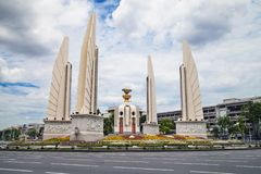 Democracy Monument in Bangkok. Thailand stock images
