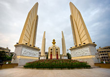 Democracy monument, bangkok, Thailand. stock photos