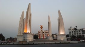 Democracy Monument in Bangkok, Thailand. Democracy Monument in Bangkok in Thailand royalty free stock photography
