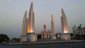 Democracy Monument in Bangkok, Thailand. Democracy Monument in Bangkok in Thailand stock image