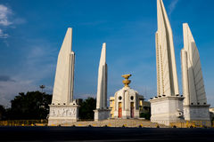 Democracy monument, Thailand. Democracy monument in Bangkok, Thailand stock images