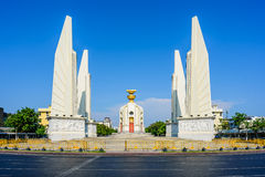 The Democracy Monument in Bangkok, Thailand. The Democracy Monument in the centre of Bangkok, capital of Thailand stock image