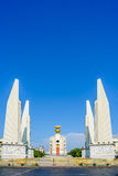 The Democracy Monument  in Bangkok, Thailand. Stock Images